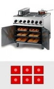 6 Burner Electric Ovens