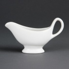C243 Whiteware Gravy Boat