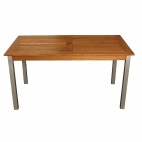 Y819 Teak & Aluminium Rectangle Table