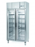 AGN600-CR 745 Ltr Glass Double Door Display Fridge