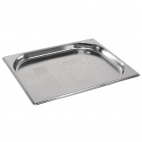 GM318 Stainless Steel Perforated 1/2 Gastronorm Pan 20mm