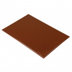 F160 Anti Microbial High Density Brown Chopping Board