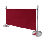 CF138 Red Canvas Barrier