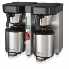 Aurora GN396 2 x 5.7 Ltr Twin Low Profile Thermal Brewer 13 amp