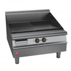 Dominator Plus E3481R 800mm Wide Half Ribbed Griddle