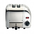 2 Slice Vario Bread Toaster Stainless