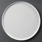 CD723 Whiteware Pizza Plate