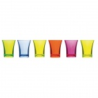CB880 Polystyrene Mixed Colour Shot Glasses 25ml