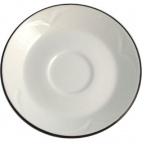 Manhattan Noir Stacking Saucers 117.5mm