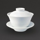 CG122 Classic Oriental Tea Cup with Lid