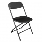 GD386 Folding Chair Black (Pack of 10)