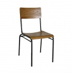 Industrial Metal Sidechair (Pack of 2)