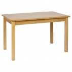 DL465 Dining Table Wooden Natural Finish