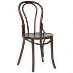 CF139 Bentwood Bistro Sidechair Walnut (Box 2)