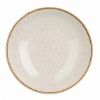 Churchill Stonecast Round Coupe Bowls Barley White 220mm