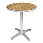 U428 Ash Top Table Round 600mm