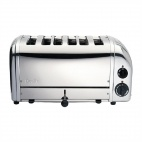 Bun Toaster 6 Bun Polished