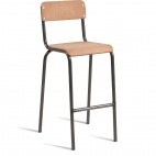 Canteen Style Bar Stool