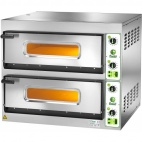 FES 4+4 Twin Deck Electric Pizza Oven - 3 Phase