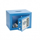 Blue Compact Office Safe
