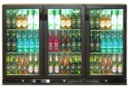 ZX3 324 Bottle Triple Door Bottle Cooler