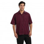 Cool Vent Chef Shirt Merlot XL