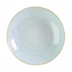 Churchill Stonecast Round Coupe Bowls Duck Egg Blue 315mm