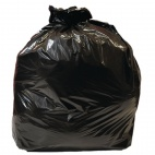 Medium Duty Black Bin Bags