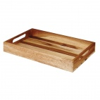 Buffetscape Large Wooden Crate 380 x 240 x 48mm