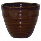 Churchill Bit on the Side Brown Ripple Chip Mugs 284ml - DL413