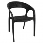 PP Rattan Wraparound Armchair (Pack of 4)