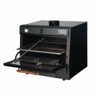 50 LUX Black Charcoal Oven