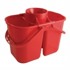 CD502 Colour Coded Twin Mop Buckets