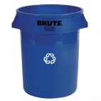 DN851 Round Brute Container with Recycling Logo