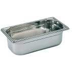 K065 Stainless Steel 1/3 Gastronorm Pan 100mm