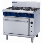 Evolution G56D-P 6 Burner Propane Gas Convection Oven Range