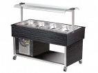 BB4-COLD Cold Buffet Display Cabinet