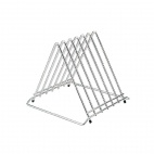 J027 Six Slot Chopping Board Rack