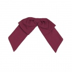 B790 Floppy Bow Tie - Burgundy