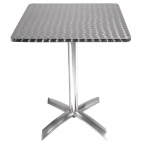 CG838 Square Flip-Top Table Stainless Steel