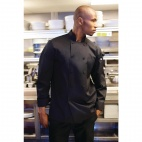 Calgary Cool Vent Unisex Chefs Jacket Black M