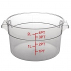 CF030 Polycarbonate Round Storage Container