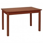 DL466 Dining Table Walnut Finish Wood