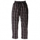 A675-M Unisex Better Built Baggies - Black Plaid