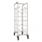 Steel Tray Clearing Trolley