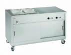 HOT121/2BM Hot Cupboard With Bain Marie Top
