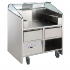 NERLP2G (351068) 2 Point Mobile Unit with Refrigerated Drawers