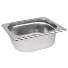 K985 Stainless Steel 1/6 Gastronorm Pan 65mm