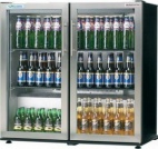 ECO CHILL ECO-DOUBLE-HG-SS 156 Bottle Double Door Bottle Cooler
