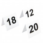 L982 Plastic Table Number Set